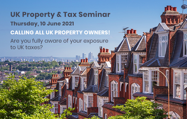 UK Property and Tax Seminar